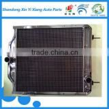 hot sale all aluminum aftermarket radiator for ford manufacturer