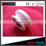 ALUMINA CERAMIC YARN GUIDES EYELET TEXTILE CERAMICS FOR TEXTILE MACHINES                                                                         Quality Choice