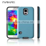 PC TPU 2 in 1 combo bumper mobile phone case phone accessory factory for samusng galaxy S5