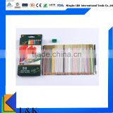 High quality soft core 36 color water color pencil set