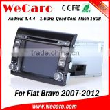 Wecaro WC-FB7000 Android 4.4.4 gps stereo indash car radios for fiat bravo 2007 - 2012 mirror link