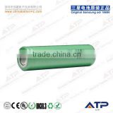 3.6v Nominal Voltage and Li-Ion,Li-ion Type High Quality Samsung Icr18650-22f 2200mah battery