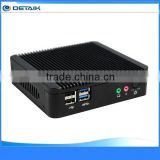 Small Size Thin Fanless Industrial Computer MINI PC