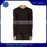 New Design No name Brand Blank Men Casual Long Sleeve Shirt