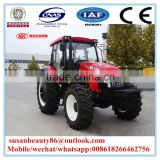 Used Mini farm tractor 404 with sunshade type canopy for sale