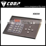 256 high speed domes supported Intelligent Keyboard 1200m Remote RS485 PTZ Controller
