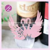 2016 new design paper mandarin duck table wedding decoration JK-50