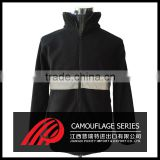 Custom free style fashion men 1/4 zip pullover with no hood
