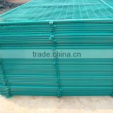 Sheet metal fence panel