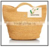 2016 Fashion Summer Paper Straw Woven Tote Bags                                                                         Quality Choice