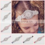 New Vintage Rhinestone Headband Baby girl crystal Headband glisten Headband baby hair accessories photo props wh-1805