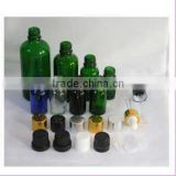 5ml 10ml 15ml 20ml 30ml 50ml 100ml empty green, blue amber glass dropper bottles for essential oil and perfume
