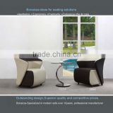 8806# modern armchair design, modern leather armchair design, modern reception chair design