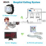 Clinic hospital Nurse Call System for Nursing hom Emergency Patient Panic Button for elderly Medical Equipment Care Call System