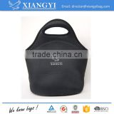 Promotional cheap neoprene can holder cooler bag with zipper closured                                                                                                         Supplier's Choice