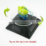 Good Quality Solar Base Light Receiver Rotating Display Stand Rotating Round Table