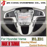 For HYUNDAI VERNA Universal control Buttons racing steering wheel