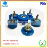 Good performance silicone / rubber wheels for woodworking machinery