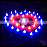 Flame Moving Pillar led candles color changing led candle                                                                         Quality Choice
