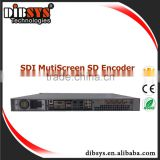 SD SDI multiscreen encoder with UDP/RTSP/RTMP/(HLS)/FTP protocol dvb and mobile tv encoder