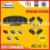 2016 Victor LCD display wireless car tire pressure monitoring system with tpms sensor                                                                         Quality Choice
