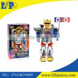 B/O Multi-function robot with light and sound for kids