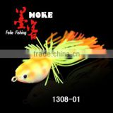 7.1g/34mm 6 colors frog fishing lure ,stainless steel hook