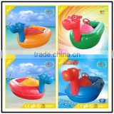 Non-inflatable Amusement park adult swimming pool boat motorized Non-inflatable bumper boat for kids
