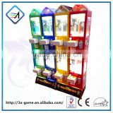 Kids plush mini candy toy doll claw crane vending claw game machine