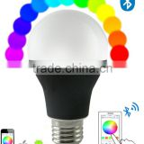 Bluetooth LED light E27 Medium Screw Base Bulb - Dimmable Multicolored Color Changing LED Lights