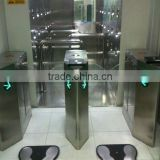 CE Approved Security Turnstile with IR Sensor alarm IR Sensor alarm ,security half height turnstile