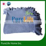 SZPLH Ruffle Knit Throw For Bed