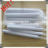 plastic electronic flameless thin and long LED taper candles