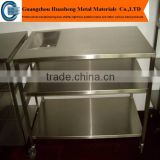 stainless steel wheeled cabinet,modern stainless steel kitchen cabinet