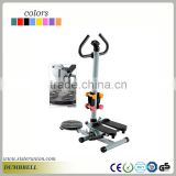 Exercise machine mini bike foot exercise stepper with waist board