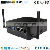 Intel Bay Trail J1900 Quad Core 2.0GHz Fanless ITX Desktop Computer Case Mini PC HTPC Windows 4G RAM 16G SSD Dual Lan WiFi HDMI