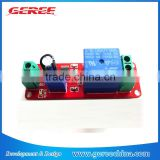 12V timer Relay module delay on switch NE555 module