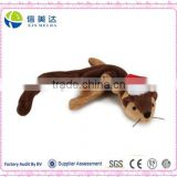 Plush Chipmunk Holiday Unstuffed Dog Toy