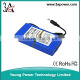 DC 12.6V 6800 mA high-capacity polymer lithium-ion battery back-up battery of surveillance cameras