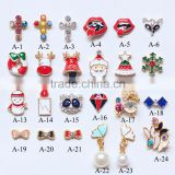 2016 Hot sale Modern design China supply nail art Jewelry, 3d christmas nail art designs