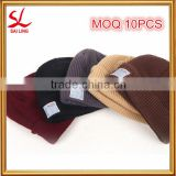 Cheap Wholesale Wireless Knitted Beanie Winter Warm Bluetooth Knitted Hat Handfree Speaker