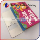 Baby memory book boardbook printing service in China
