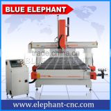 4 axis cnc router 2050 price , ATC cnc engraving machine , with caousel tool and 9kw hsd air cooling spindle
