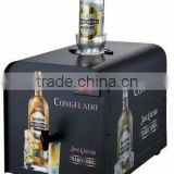bar liquor dispenser high quality chilled liquor dispenser led display light single bottle liquor dispenser