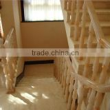 Outdoor marble staircase railing baluster with modern design