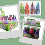sour powder candy with baby bottle