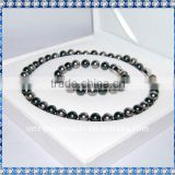Popular 10mm Round Shape Sea Shell Pearl Set SES005