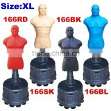 Free Standing Punching Man Freestanding Punching Bag Boxing Man Dummy with adjustable height