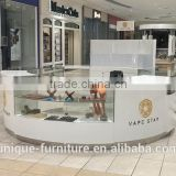 Customized mall display showkiosk for jewelry&showcase for jewelry from Unique jewelry display showcase manufacturer