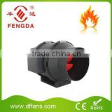 Low noise mixed flow inline bathroom trade assruance corvered Extractor Fan Round Duct Fan